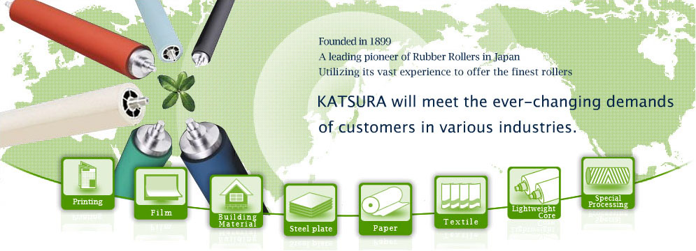 Katsura Roller Mfg  Co , Ltd, an all-round roller